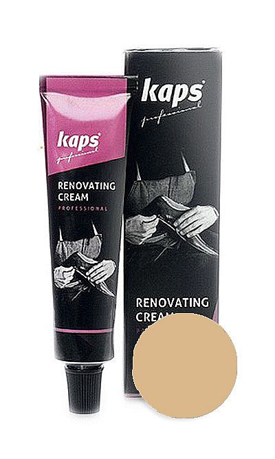 Beżowy renowator do skóry licowej, Renovating Cream Kaps