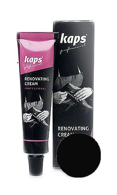 Czarny renowator do skóry licowej, Renovating Cream Kaps