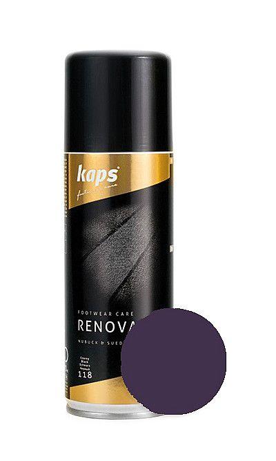 Fioletowy renowator koloru do zamszu, nubuku 200 ml Kaps