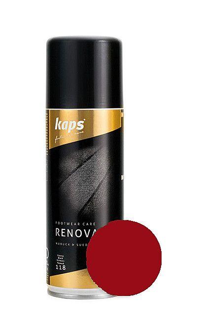 Czerwony renowator koloru do zamszu, nubuku 200 ml Kaps