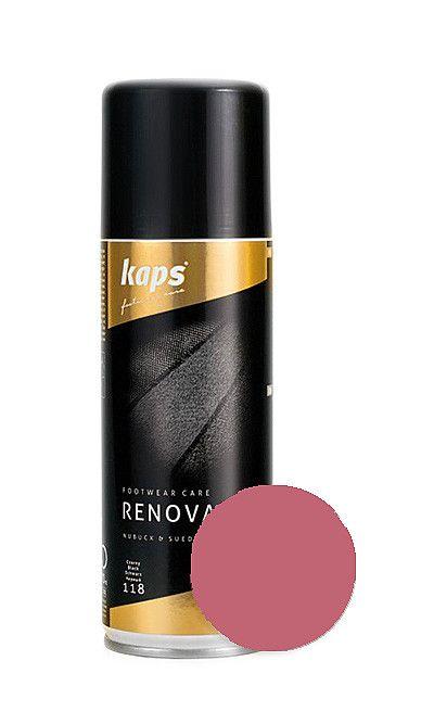 Różowy renowator koloru do zamszu, nubuku 200 ml Kaps