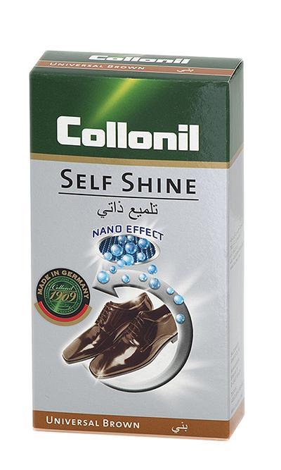 Brązowa pasta do butów w płynie, Self Shine 50 ml Collonil