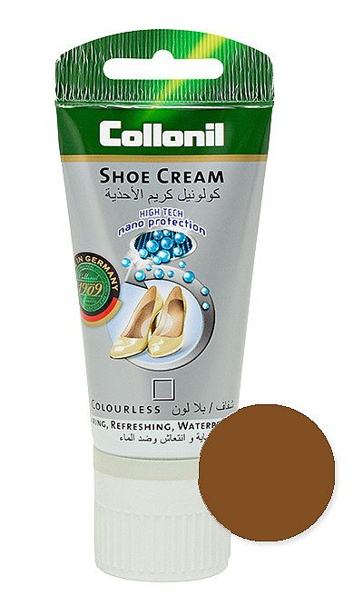 Brązowa Nanopasta, krem do butów Shoe Cream Collonil