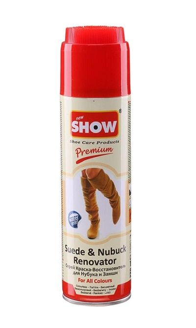 Bezbarwna pasta do zamszu nubuku spray Show 220 ml