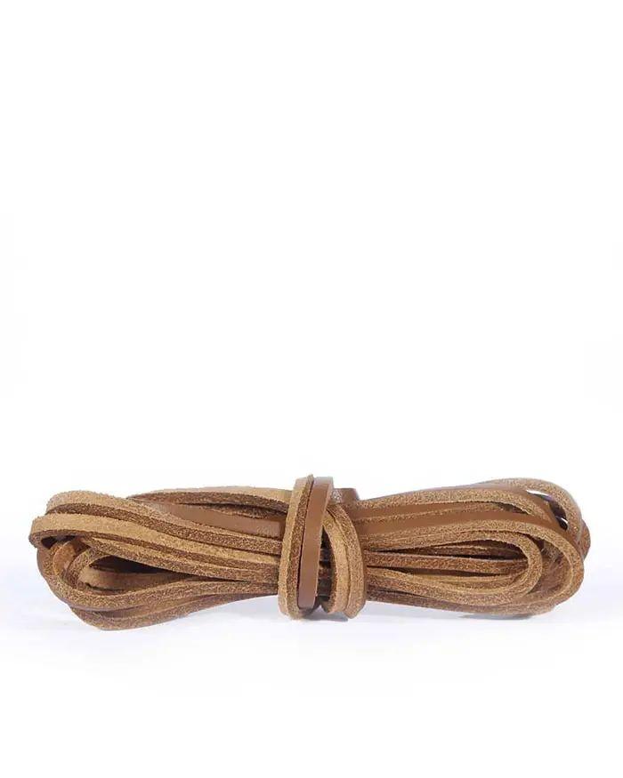 Skórzane rzemyki, skórzane sznurówki do butów Neutral 140 cm Kaps
