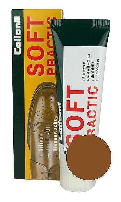 Brązowa pasta do butów, Soft Practic Collonil 398 75 ml