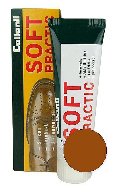Jasnobrązowa pasta do butów, Soft Practic Collonil 331 75 ml