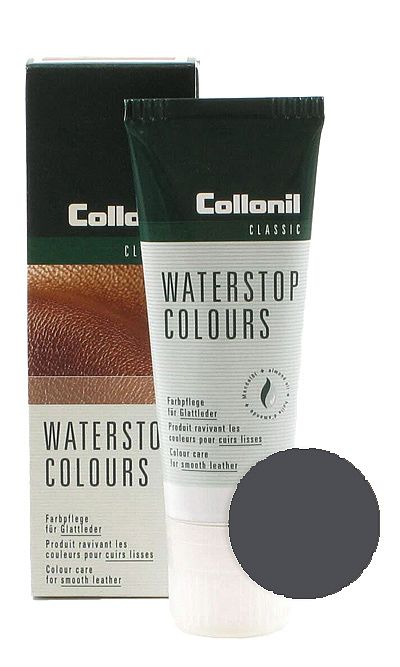 Szara pasta do butów, Waterstop Colours Collonil 229 75 ml