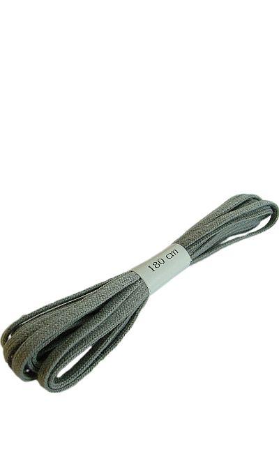 Szare, płaskie, sznurówki do butów 180 cm Halan