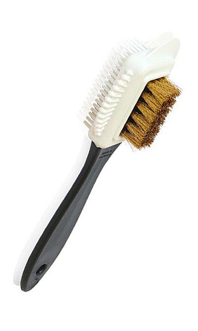 Szczoteczka do czyszczenia zamszu z mosiądzem, czyścik do nubuku Kaps