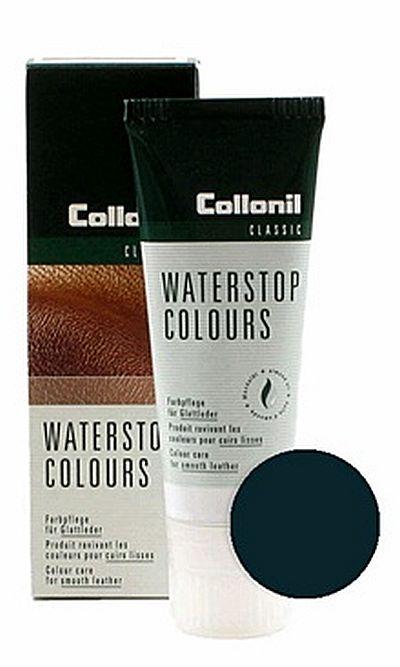 Granatowa pasta do butów, Waterstop Colours Collonil 546 75 ml