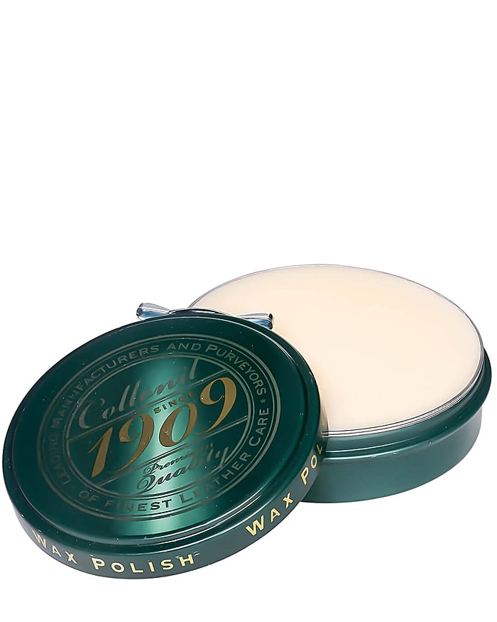 Bezbarwna, klasyczna pasta do butów, Wax Polish 1909 Collonil