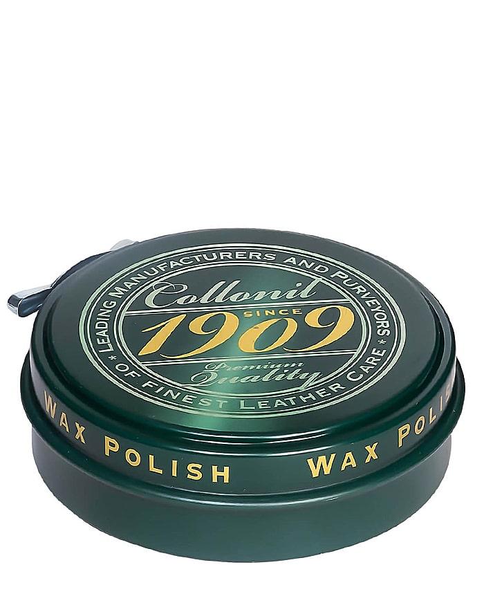 Ciemnobrązowa, klasyczna pasta do butów, Wax Polish 1909 Collonil