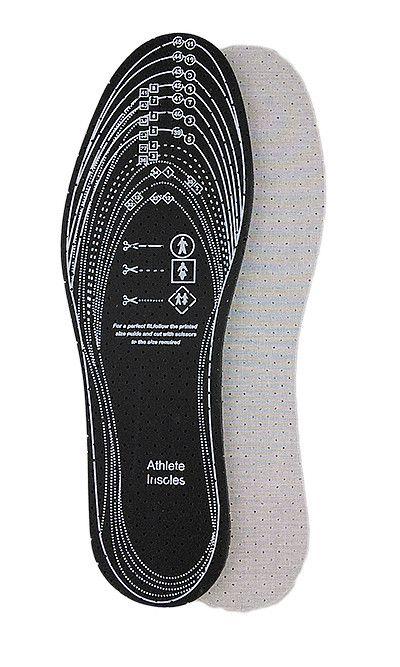 Wkładka do butów, przeciwpotna z aktywnym węglem 071 Mazbit