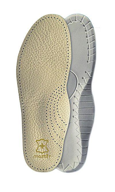 Wkładka do butów, skórzana, profilowana MO414 Travel Mazbit