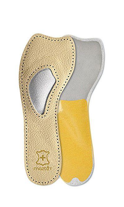 Wkładka skórzana do butów na obcasie, Twist 3/4 MO413, Mazbit