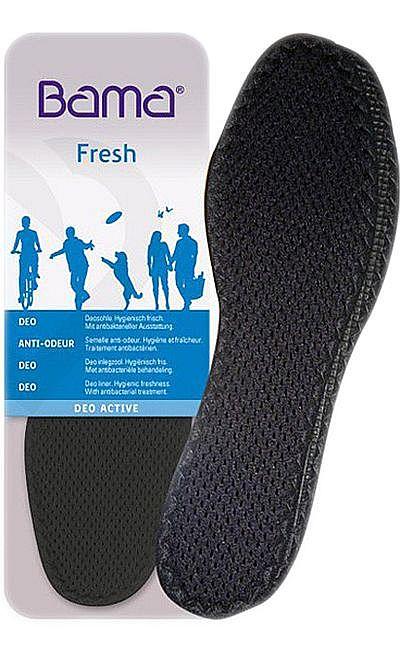 Odświeżające, antybakteryjne wkładki do butów, Deo Active Bama